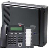 Vertical SBX 3 X 8 Phone System with Three 24 Button Phones & Voice Mail  $1299.00